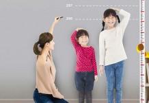 Dự tính chiều cao của bé trong tương lai