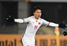 Chiều cao của tiền vệ Nguyễn Quang Hải