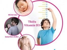 Vitamin D3 là gì? Vai trò đối với phát triển chiều cao ở trẻ