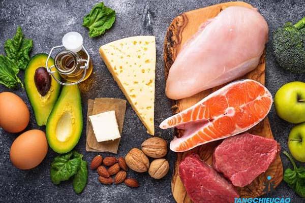 bổ sung dinh dưỡng hợp lý để tăng chiều cao tuổi 16