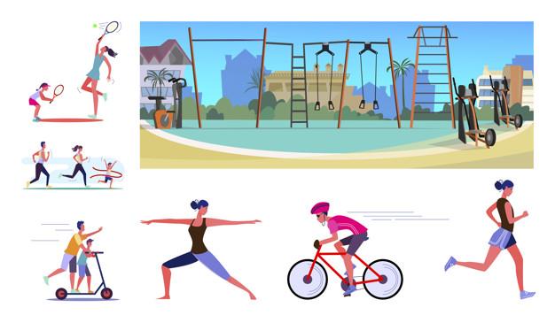 Vận động thể thao không những tốt cho chiều cao mà còn có lợi cho sức khỏe