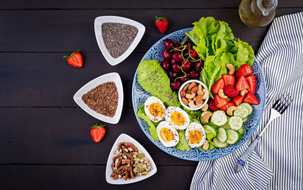 Chế độ dinh dưỡng cân bằng thúc đẩy chiều cao tăng nhanh