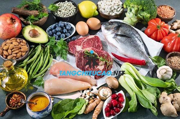 dinh dưỡng ảnh hưởng lớn đến chiều cao