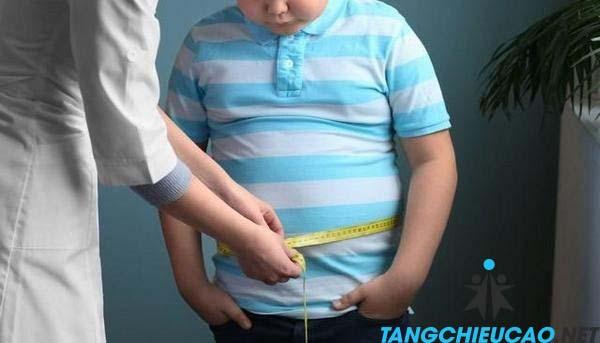 giảm cân tăng chiều cao