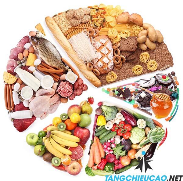 dinh dưỡng giảm cân tăng chiều cao