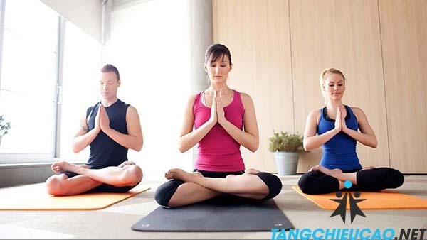 yoga giảm cân tăng chiều cao