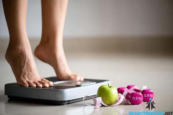 kiểm soát cân nặng để tăng chiều cao tuổi 16