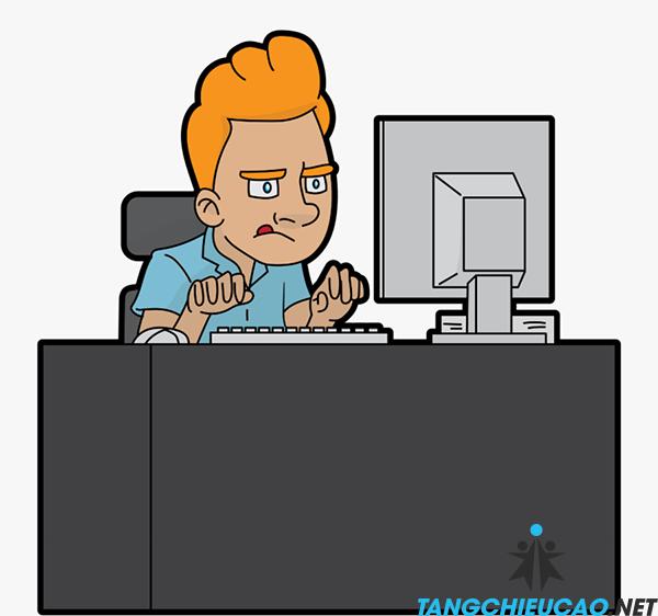 ngồi máy tính quá nhiều