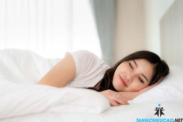 ngủ tăng  chiều cao tuổi 16
