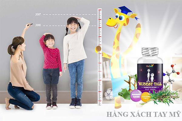 NuBest Tall là thuốc tăng chiều cao đang được ưa chuộng hiện nay tại Việt Nam