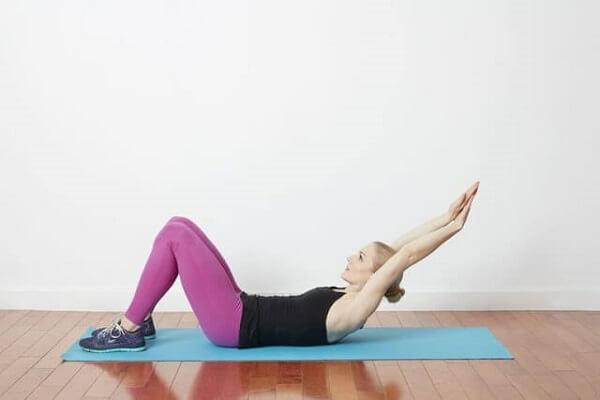 Bài tập yoga tăng chiều cao Long Arm Crunch