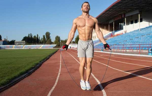 Nhảy dây rất tốt cho sự phát triển của nam giới