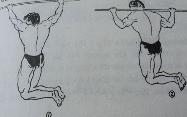 Hướng dẫn bài tập xà đơn kéo người lên sau cổ