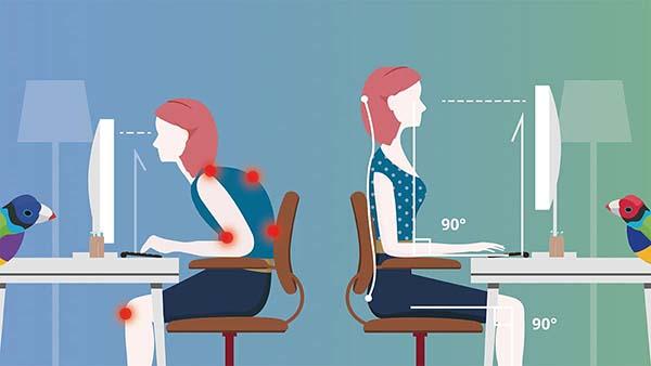 tư thế ngồi tăng chiều cao