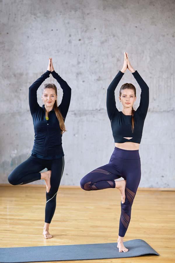 yoga tư thế cái cây